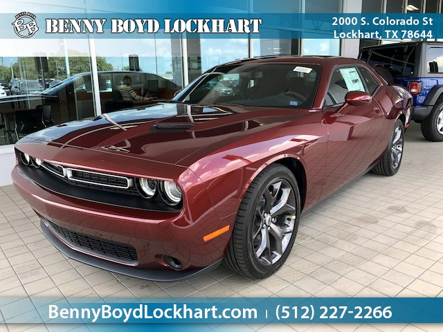 New 2018 Dodge Challenger Sxt Coupe In Lockhart Jh339034 Benny